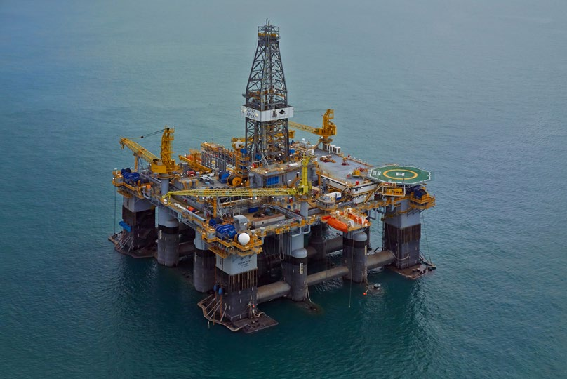 Ocean Apex rig is drilling the Ironbark well for BP