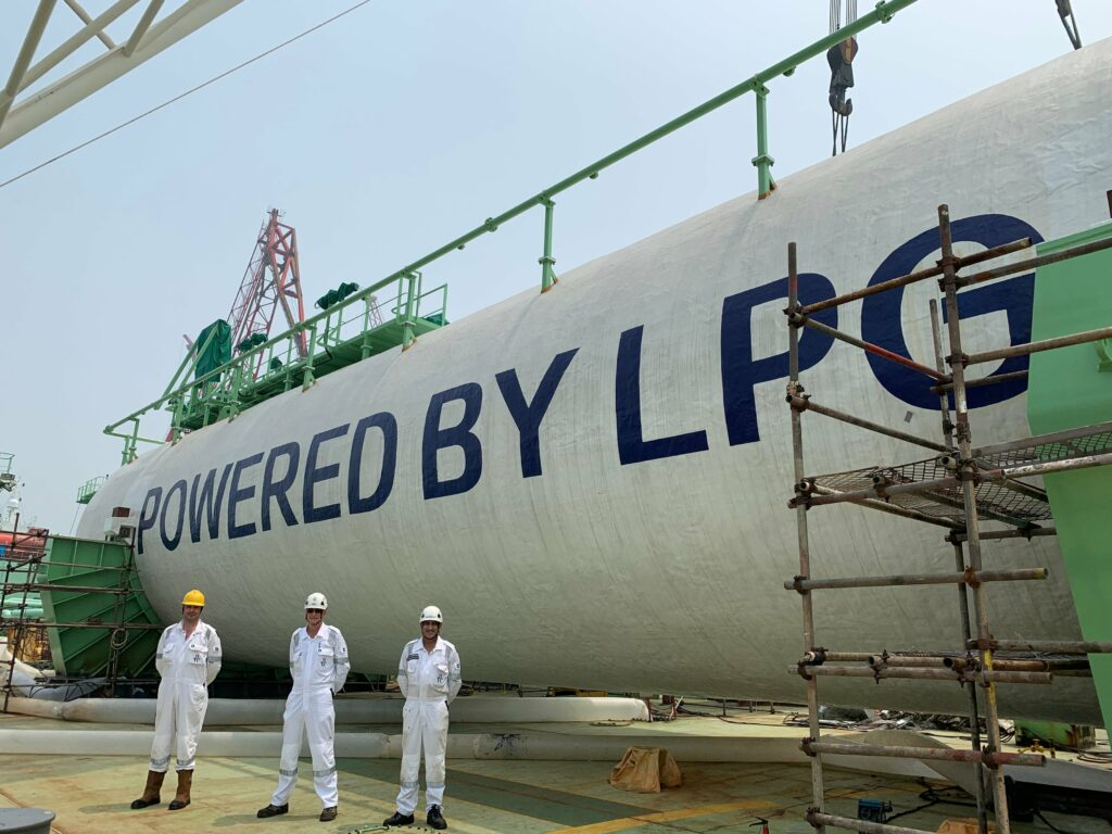 BW LPG's third retrofit completes sea and gas trials