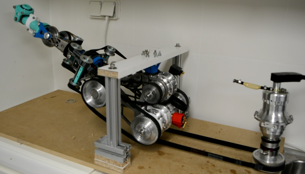 Kraken, a new robotic arm for offshore operations