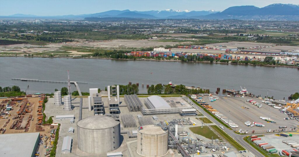 FortisBC to expand its Tilbury LNG storage
