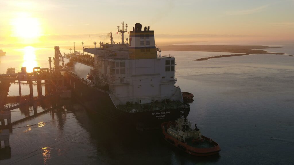 U.S. LNG exports set a record in December