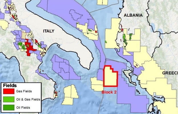 Block 2 offshore Western Greece - Energean