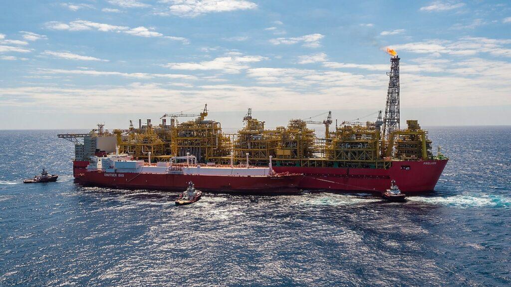 Shell resumes LNG loadings at Prelude FLNG