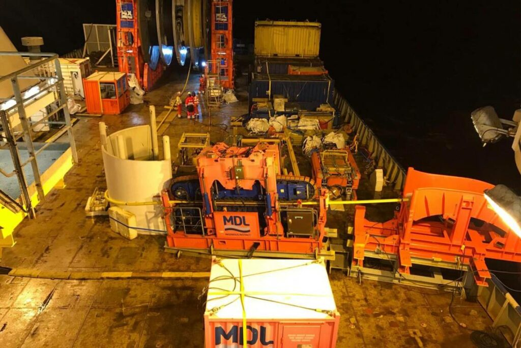 MDL equipment for North Sea campaign