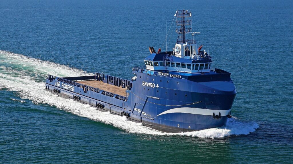 Corvus Energy Storage Systems for four Harvey Gulf's Offshore Vessels