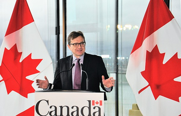 Jonathan Wilkinson, Canada's Minister of Environment and Climate Change