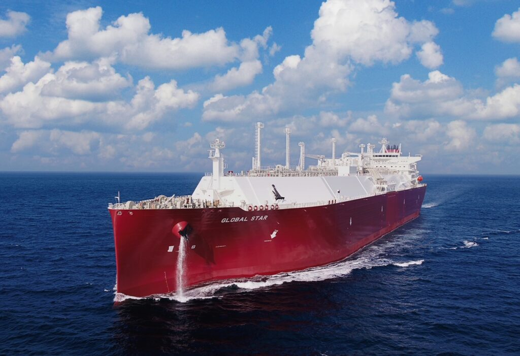 Nakilat's LNG carrier Global Star chartered to Shell