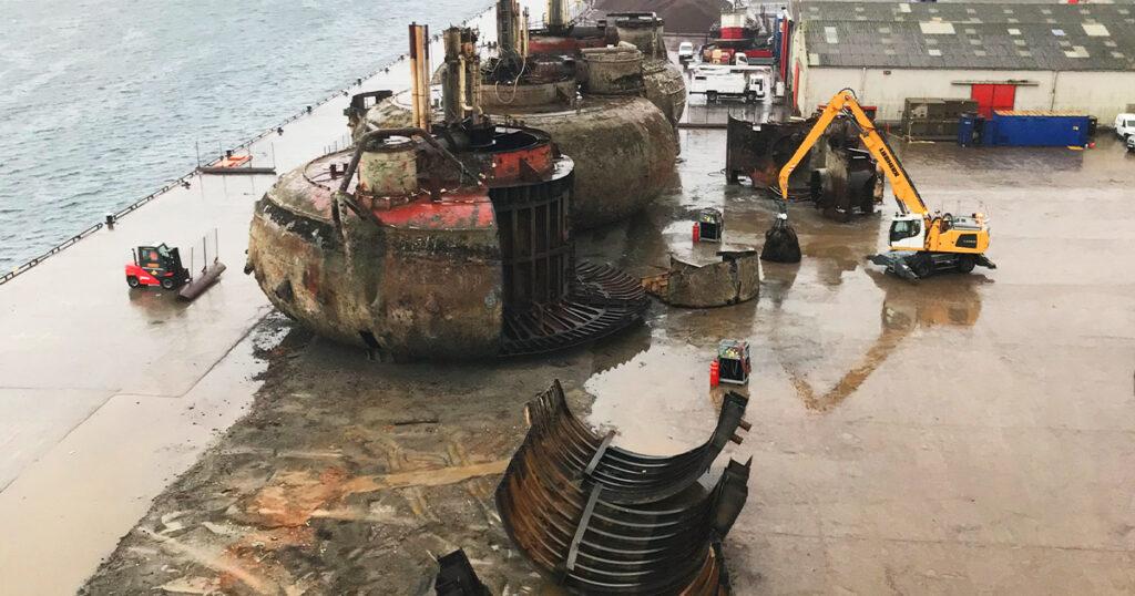 Buchan Alpha decommissioning - John Lawrie