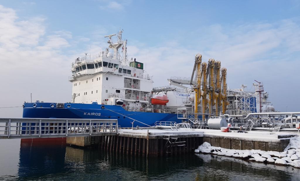 PGNiG received its fourth LNG delivery in Klaipėda
