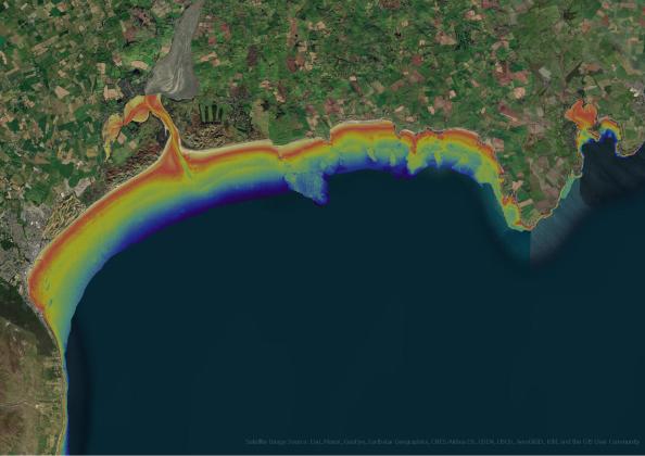 satellite seafloor mapping