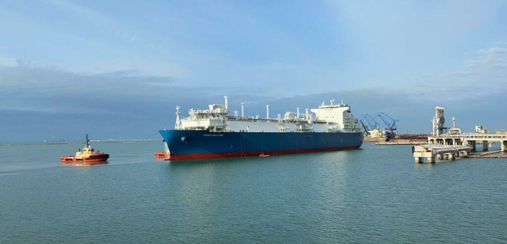 U.S. weekly LNG export slip
