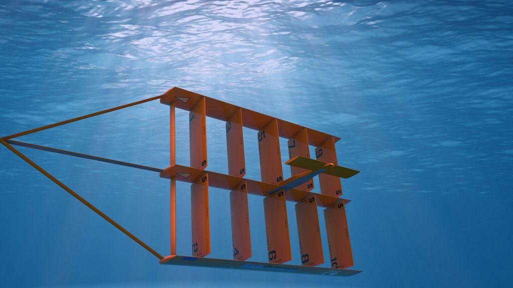 A concept for SeaQurrent's TidalKite (Courtesy of SeaQurrent)