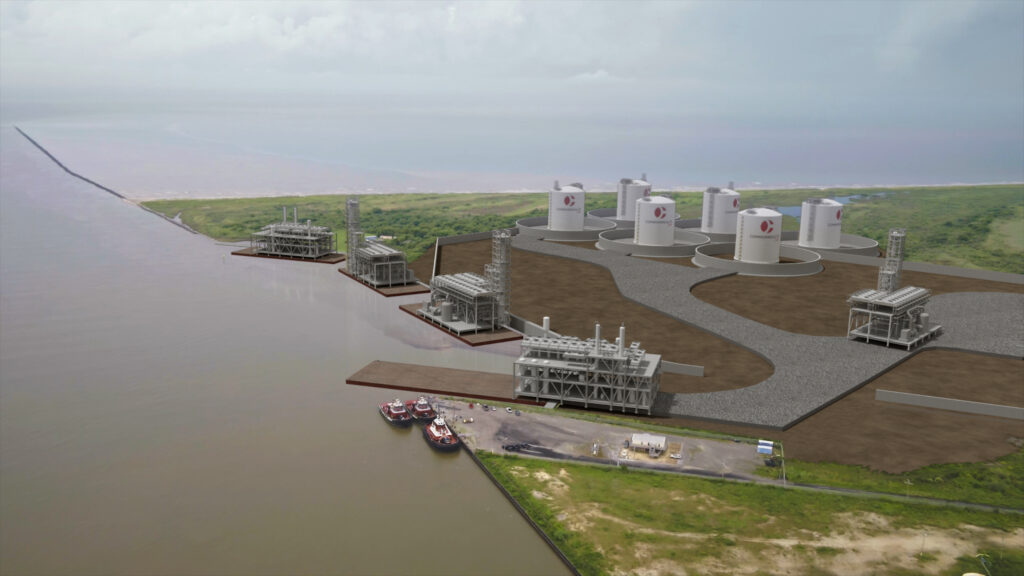 Commonwealth LNG floats LNG offtake tender