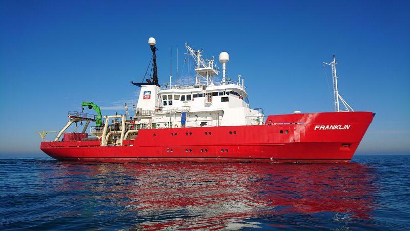 MMT Franklin survey vessel