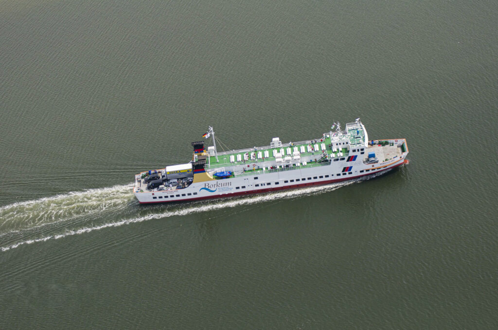 AG Ems's Münsterland arrived for a LNG conversion