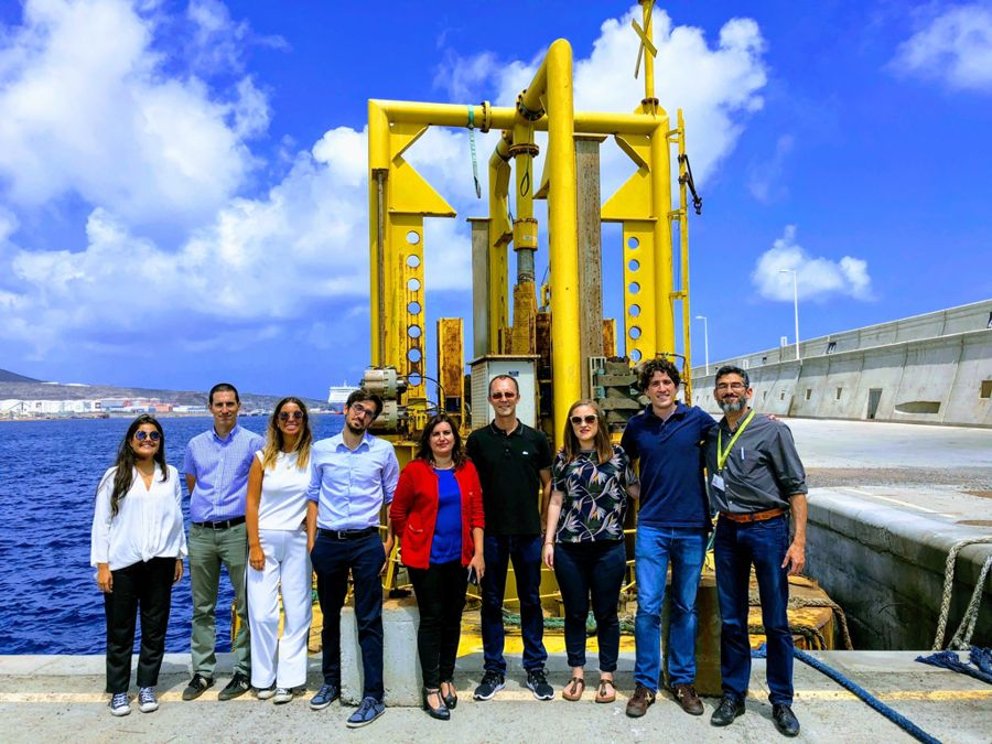 A photo of WEP+ project partners (Archive/Courtesy of Aquatera)
