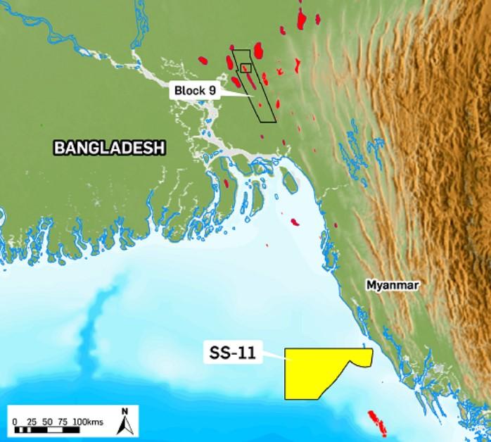 Block SS-11 off Bangladesh - KrisEnergy