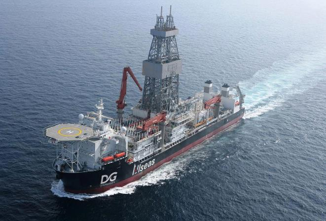 Allseas drillship for future deep-sea mining