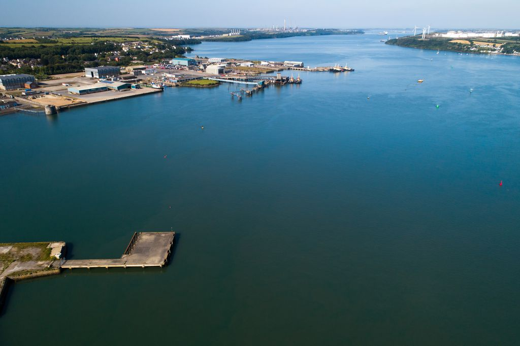 Photo of a META site (Courtesy of Marine Energy Wales)