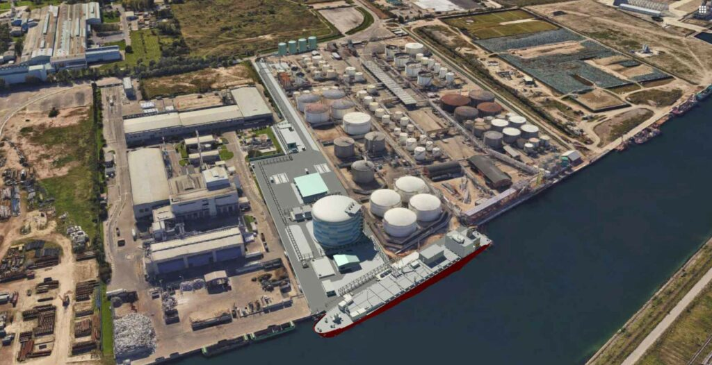 Venice LNG gets authorised for LNG storage terminal