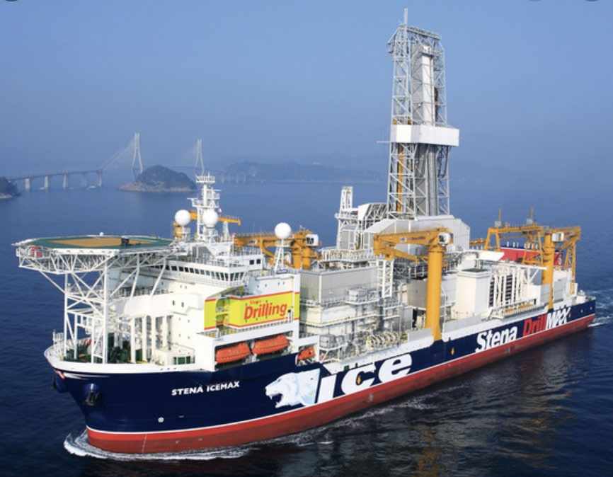 Stena IceMAX drillship is drilling the Perseverance well - BPC
