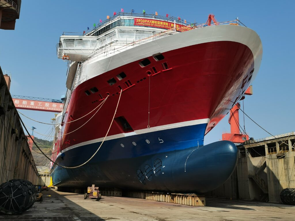 Viking Line's LNG ferry set to launch at XSI in China