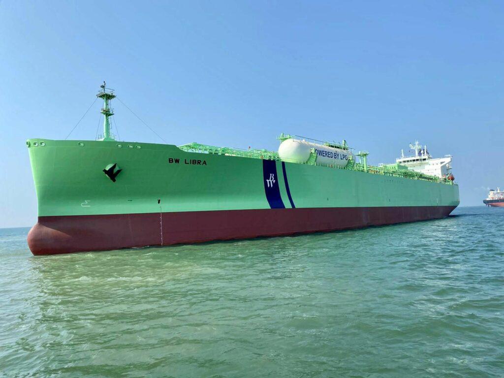 BW LPG's fourth retrofit set for sea trials