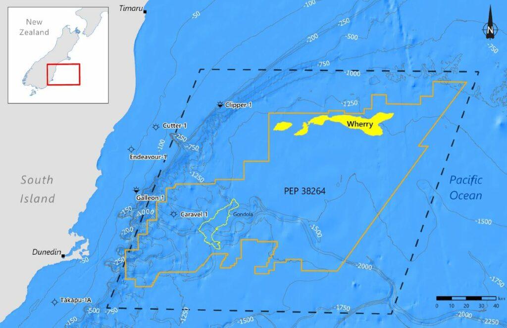 Wherry prospect map - Beach Energy