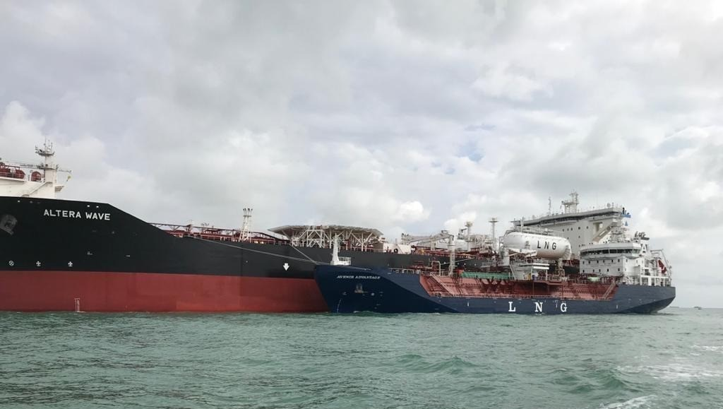 CRYO Shipping claims Asian LNG bunkering milestone