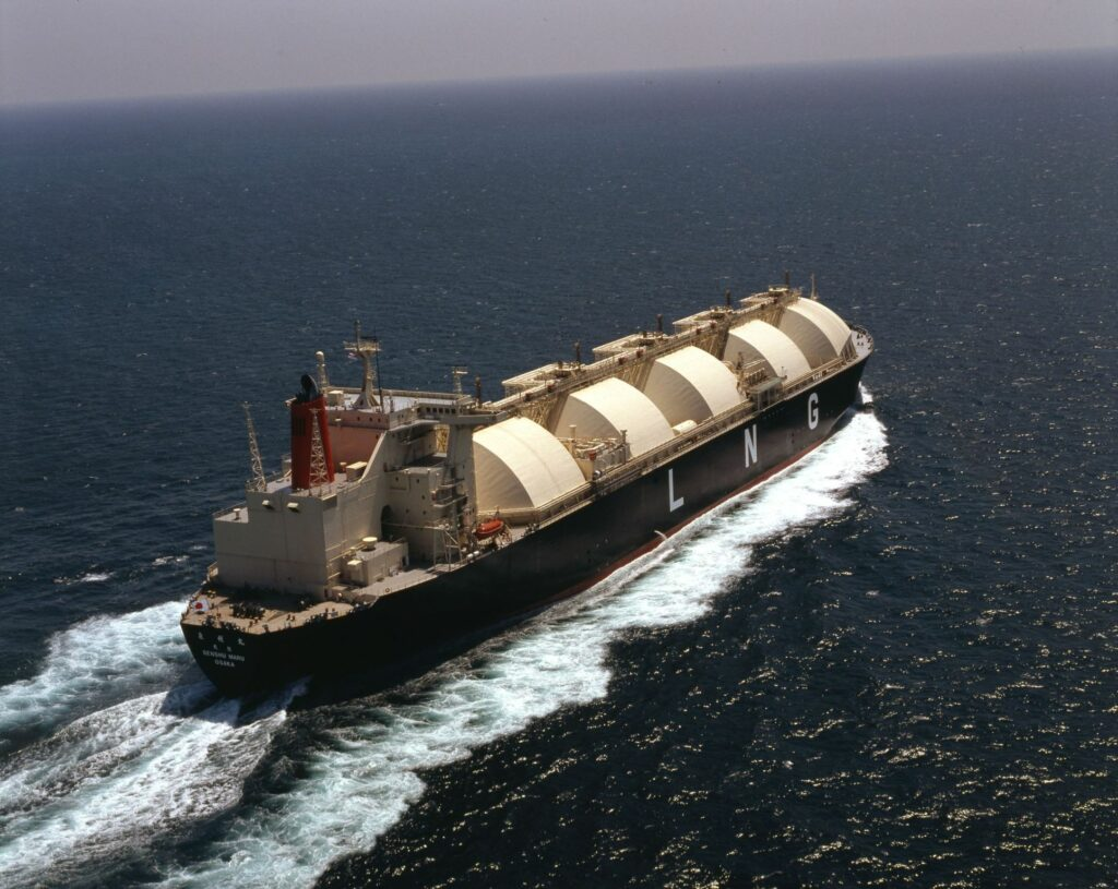 MOL recycles its oldest LNG carrier