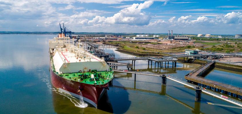 VINCI to build storage tank at Grain LNG terminal