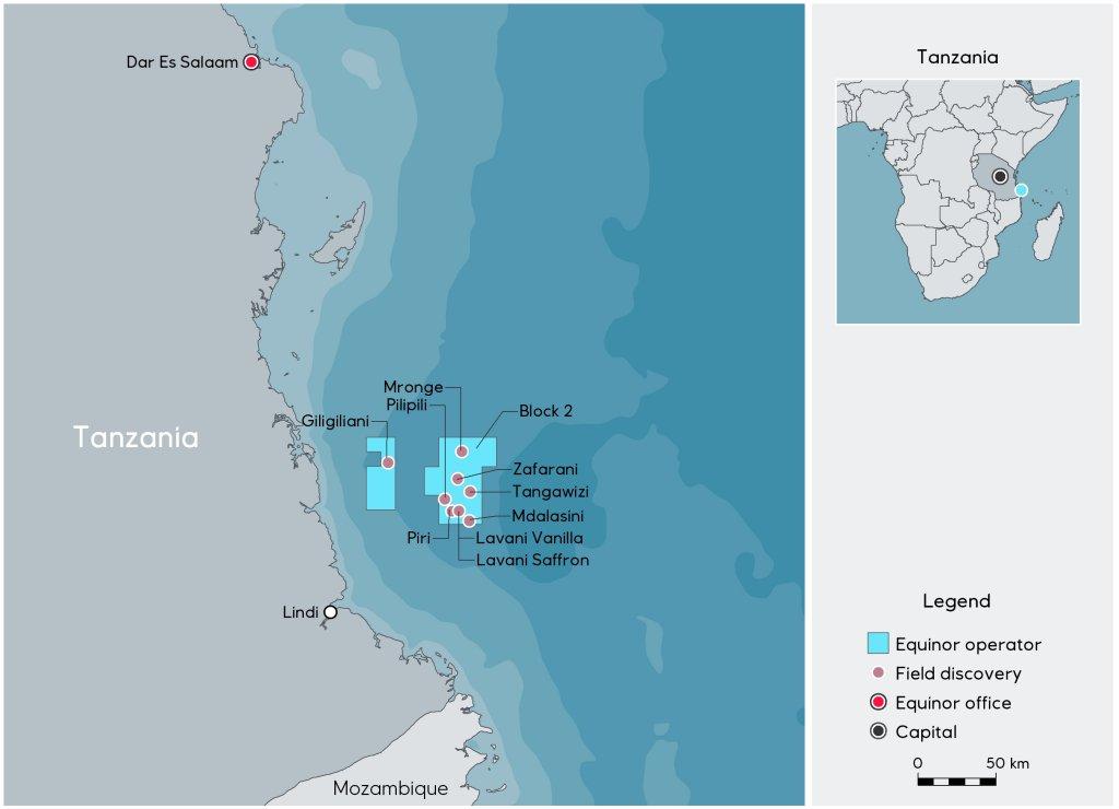 Equinor slashes Tanzania LNG value by $982 million