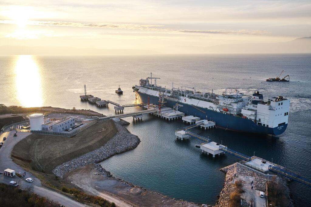 Croatia's LNG terminal inaugurated
