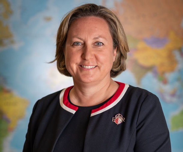 Photo of Anne-Marie Trevelyan, UK's Energy Minister (Courtesy of UK government)