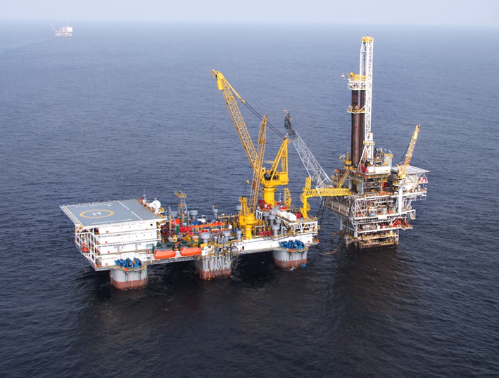 West Vencedor rig - Seadrill