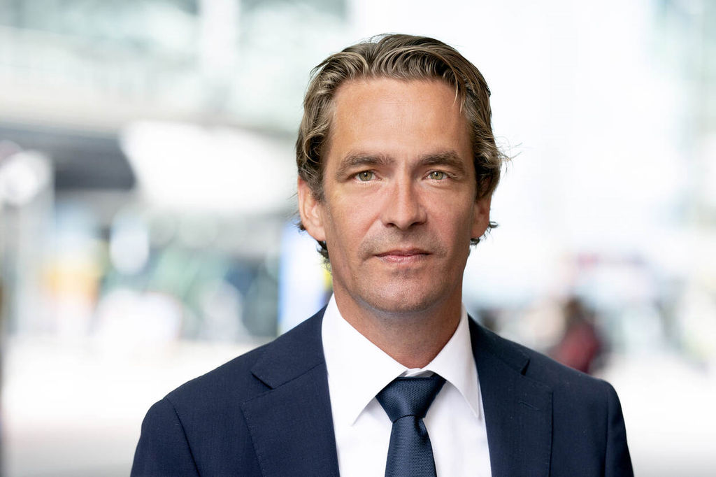 Photo of Bas van 't Wout, Minister of Economic Affairs and Climate Policy in the Netherlands (Courtesy of Arenda Oomen/The government of Netherlands)