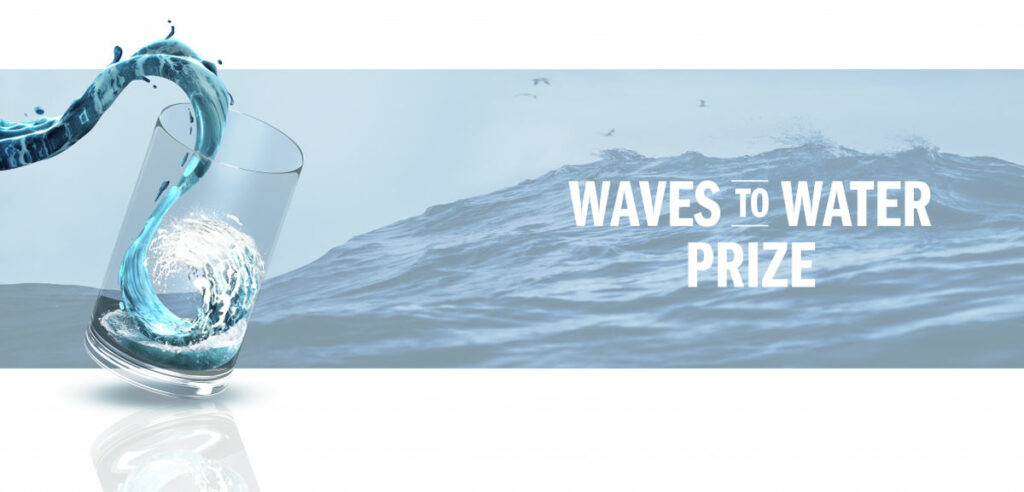 Waves to Water Prize (Courtesy of the U.S. Department of Energy)