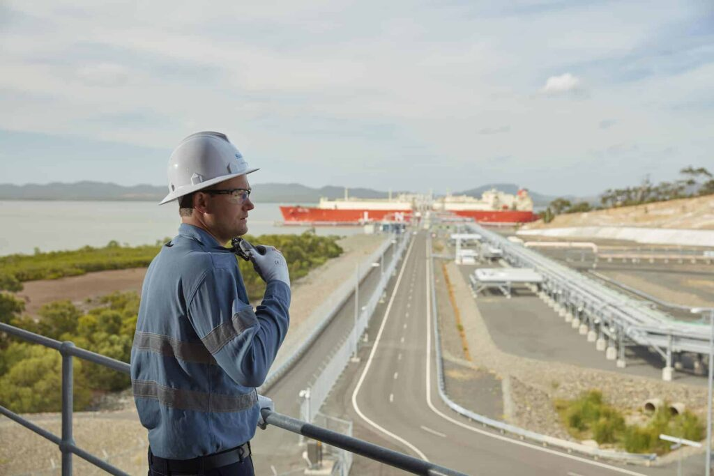 Gladstone LNG exports edge down in January