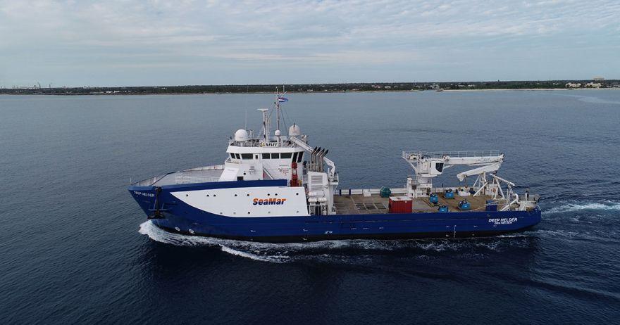 MMT survey vessel, M/V Deep Helder