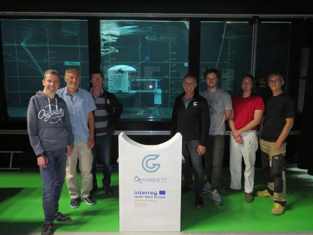 Photo of GKinetic at Ifremer in September 2019 (Courtesy of GKinetic Energy)