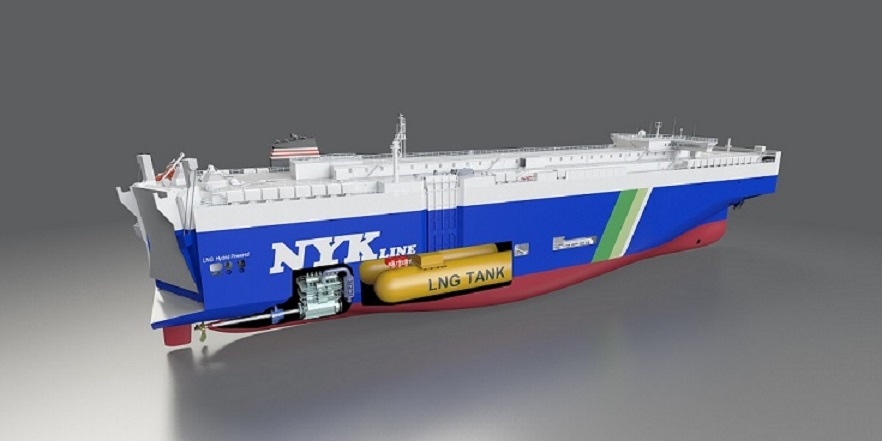 NYK tags China Merchants yard for LNG-fueled PCTCs quartet