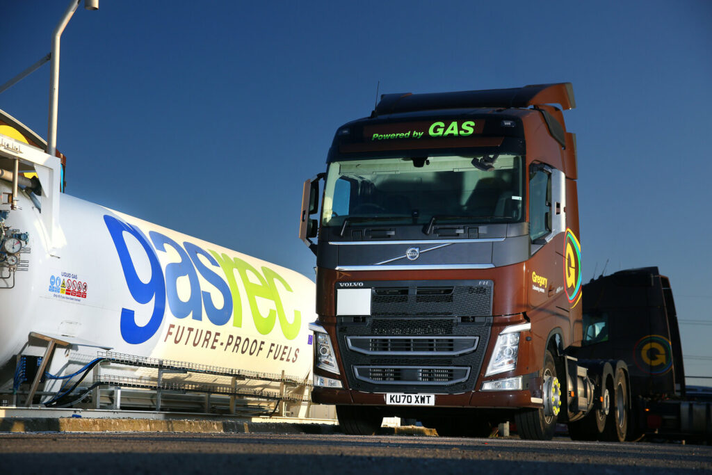 Gregory Distribution takes on Gasrec bio-LNG refueling station