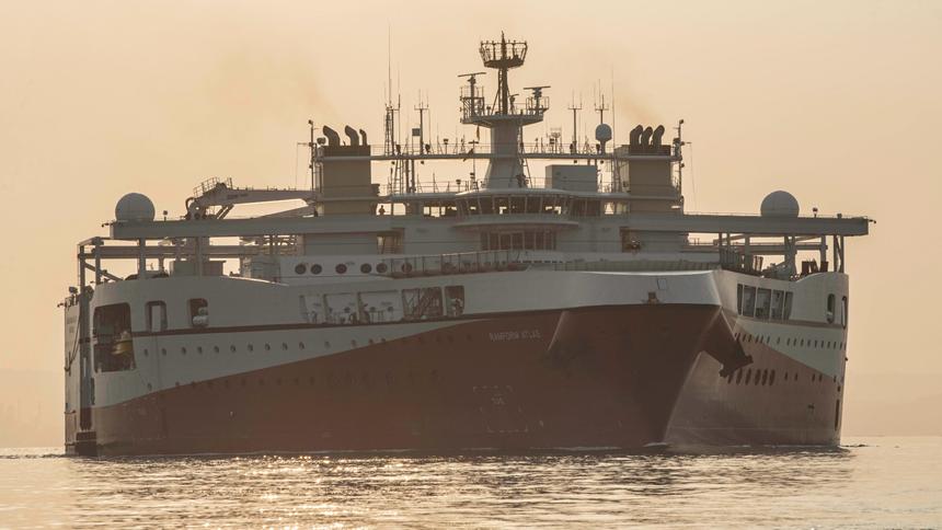 PGS vessel Ramform Atlas