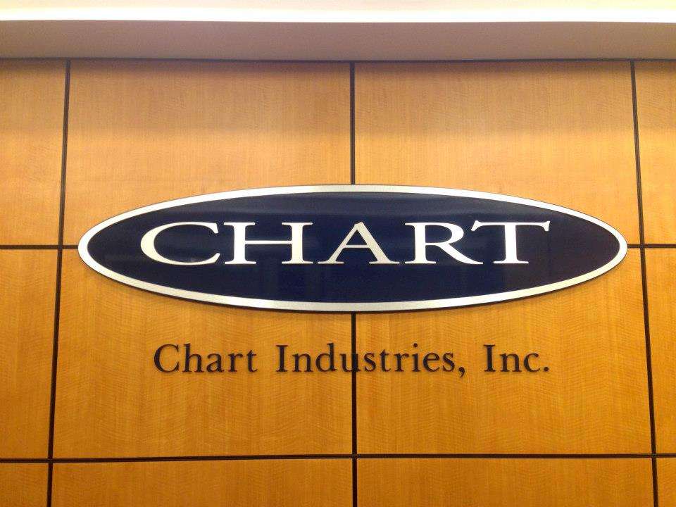 Chart obtains Cryo Technologies