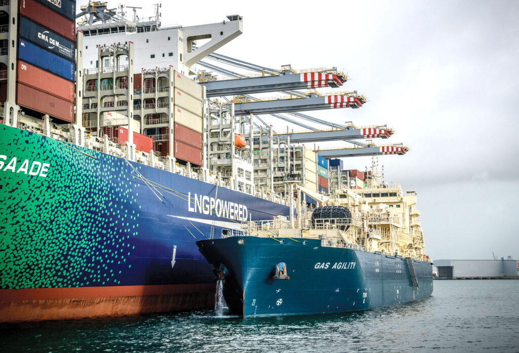 SEA-LNG: LNG as a pathway to decarbonisation
