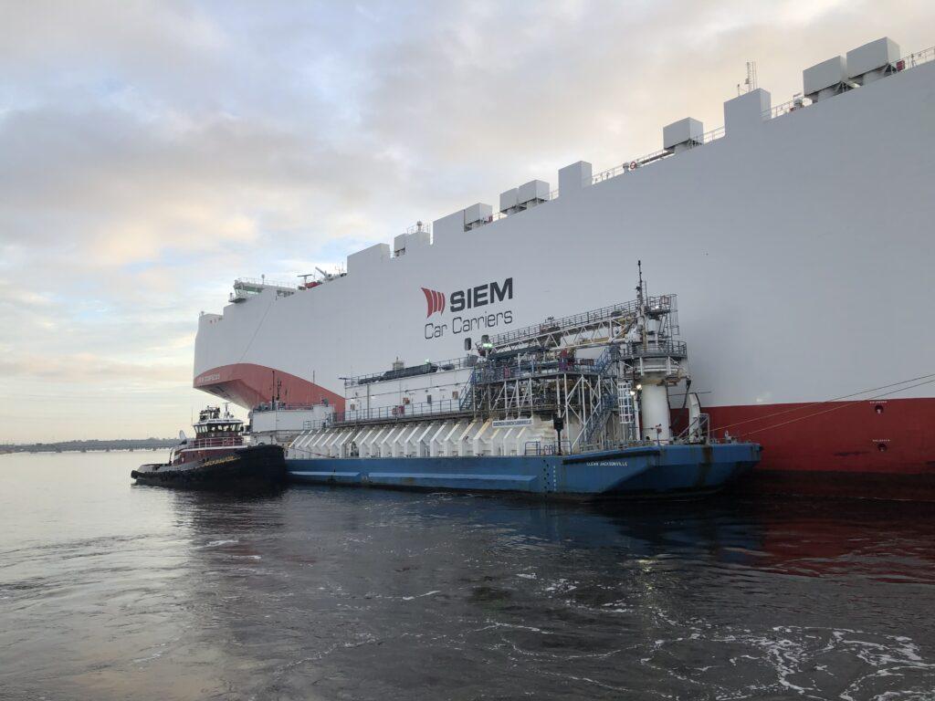 JAXPORT marks LNG bunkering milestone