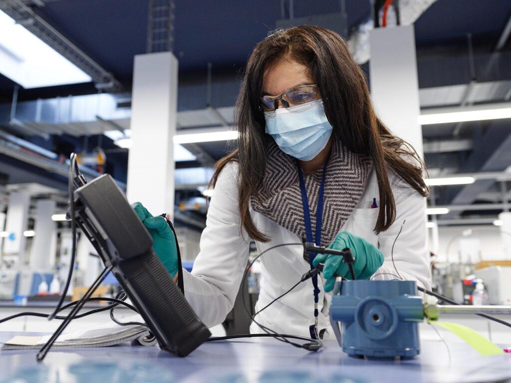Fluxys and KU Leuven to test hydrogen panels