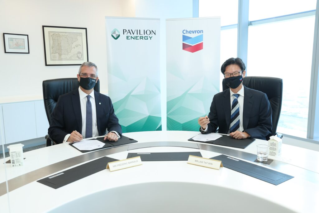 Pavilion Energy pens LNG supply deal with Chevron