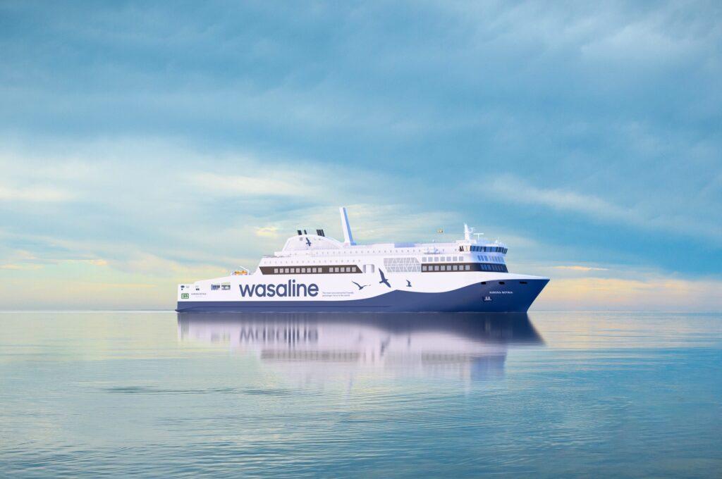 Gasum to provide LNG to Wasaline and Wärtsilä