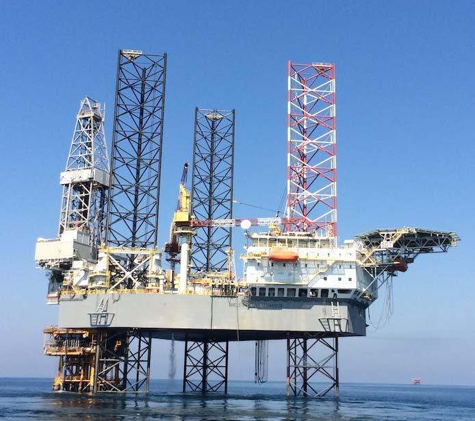 Shelf Drilling Tenacious rig is drilling Yumna wells for Masirah Oil
